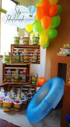 Encontrando Ideias: Festa Verão!!