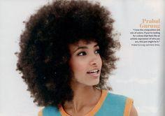 Esperanza Spalding: In Style Magazine Spread