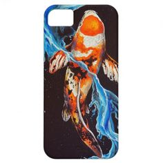 Water Koi iPhone 5 Cover #iPhone #smartphone #oriental #japanese #case #cover #electronic #shopping #gift