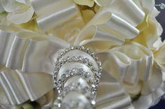 Collar and Handle #BroochBouquet #BridalBouquet