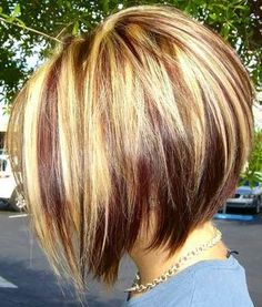 I have highlights but not nearly this much. This could be pretty cool tho but I'm planning on growing my hair out again