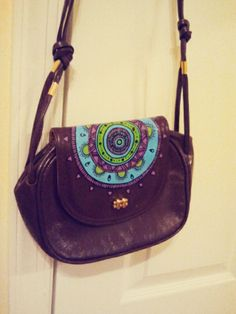 painted purse