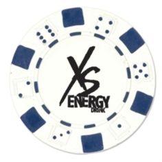 "Casino Chip...This casino chip is made of plastic. 1-1/2"" Diameter."