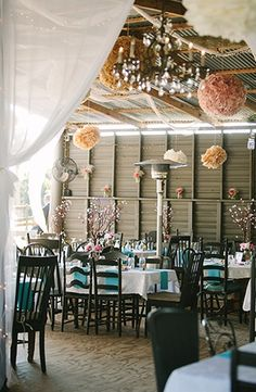 A Pink and Blue Rustic Barn Wedding Inspiration www.MadamPaloozaEmporium.com www.facebook.com/MadamPalooza