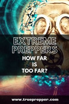 Extreme Preppers: How Far is Too Far? | TruePrepper  We all know the type: it's what preppers are unfortunately known for. How far was too far for these extreme preppers? #extremeprepping #overkill #preppers Doomsday Prepping, Living Off The Land, Urban Survival, Personal Hygiene, Daily Activities, Stressed Out, Walking In Nature, Emergency Preparedness, Survival Skills