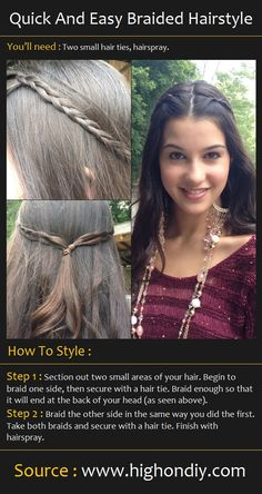Tons of hair tutorials on this site