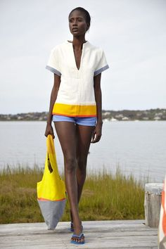@lemlemnyc Lila Tunic, founded by Liya Kebede, handmade in Ethiopia from natural cotton