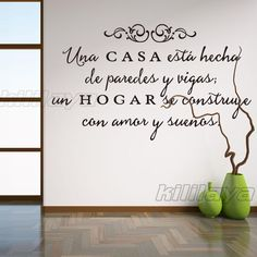 new Spanish Quote Wall Decals Removable sticker for home