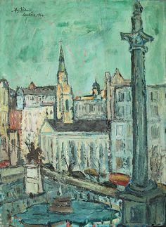 Chia Yu Chian - London 1960 [78cm x 57cm] oil on canvas