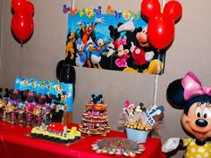 Mickey Mouse Clubhouse Party #mickeymouse #party