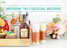 Summer Cocktail Series: Modern Tiki Celebration Cocktail Recipes - http://www.weddideas.com/wedding-ideas/summer-cocktail-series-modern-tiki-celebration-cocktail-recipes.html