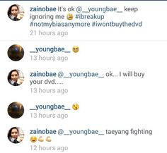 This is so cute xD Taeyang replies Ep1pt2