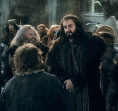 Thorin and Bilbo, Battle of the Five Armies, The Hobbit 12189674_908355532586582_1285669601554168765_n.png (798×752)
