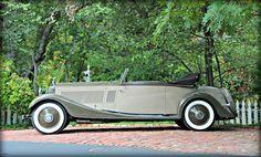 1934 ROLLS-ROYCE PHANTOM II CONTINENTAL KELLNER 3-POSITION CABRIOLET