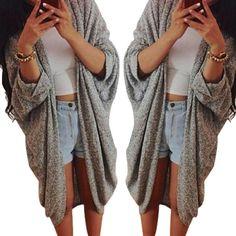 Pas cher Hiver femmes Splice en cuir manches châle Kimono Cardigan Tops Cover up Cardigan giacca Veste gilet panciotto yelek Ceket, Acheter  Vestes Classiques de qualité directement des fournisseurs de Chine:    Femmes Lady Casual tricot chandail à manches manteau cardigan veste            Spécifications:           100%