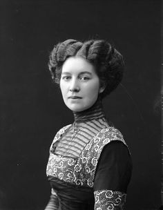 Wow - the original post lists her as Marie Eriksen - 1911. She's absolutely stunning. Gotta look her up.