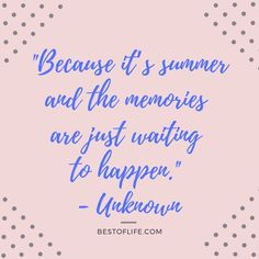 Take some motivation from some happy summer fun quotes that embody the season perfectly in words that you can share with others. Quotes About Summer Teen Quotes, Motivational Quotes For Life, Quotes For Kids, Quotes Quotes, Positive Quotes, Funny Quotes, Inspirational Quotes, Bad Day Quotes, Good Life Quotes