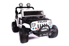 The Kids Police Truck Explorer Ride-On SUV Two-Seater with R/C Remote LED Lights is built for durability, speed, and comfort for the greatest adventure of a lifetime! INCLUSIONS:Charger ControlInstruction(s)AUX Cord (. Kids Police, Dirt Bikes For Kids, Police Truck, Pocket Bike, Electric Skateboard, Kids Ride On, Ride On Toys, Pedal Cars, Outdoor Toys