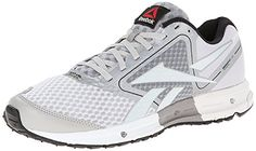 Reebok Mens One Guide Running Shoe WhiteSteelFlat GreyBlack 10 M US *** Find out more about the great product at the image link.