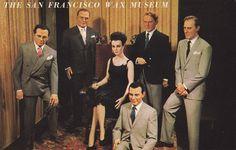 San Francisco Wax Museum Liz Taylor & Five of Her Husbands… | Flickr