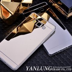 Luxury Mirror Electroplating Case Coque for Samsung Galaxy A3 A5 A7 2016 A8 J5 J7 S3 S4 S5 S6 S7 Edge Plus Soft TPU Back Cover
