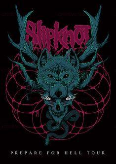 Slipknot Merchandise Graphic by Matt Reid on CreativeAllies.com