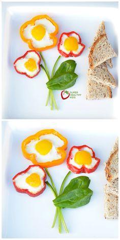 "We've been eating ""Egg in a bell pepper"" for breakfast. Definitely going in my list of favorites!"