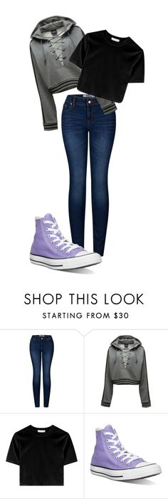 """Untitled #91"" by kbwalrus on Polyvore featuring 2LUV, Puma and Converse"