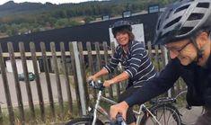 Bundesrätin Doris Leuthard unterwegs für den Bundesbeschluss Velo Ja Bicycle, Vehicles, Bike, Bicycle Kick, Bicycles, Car, Vehicle, Tools