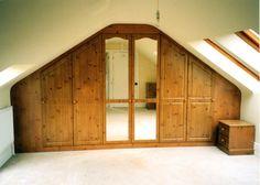 Loft Storage, Garage Doors, Outdoor Decor, Home Decor, Eaves Storage, Interior Design, Home Interior Design, Attic Storage, Home Decoration