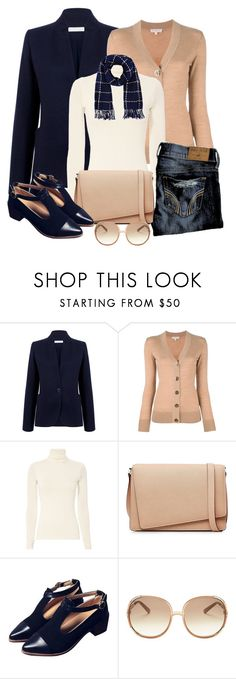 """""""Untitled #1277"""" by gallant81 ❤ liked on Polyvore featuring Atea Oceanie, Tory Burch, Twenty, Valextra, Chloé and Barneys New York"""