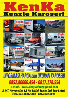 KAROSERI TOWING MOBIL SPORT >> KAROSERI KENKA Truck Boxes, Tow Truck, Trucks, Nerf, Ferrari, Dan, Comic Books, Cover, Sports