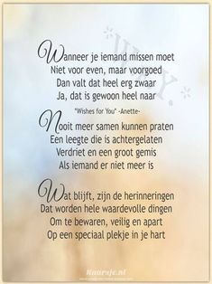 Recently shared overleden moeder tekst ideas & overleden moeder tekst pictures Sign Quotes, Words Quotes, Me Quotes, Loosing Someone, Happy Birthday In Heaven, Miss My Dad, Heaven Quotes, Dutch Quotes, Wishes For You