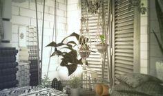 TS2 > TS4 Hanging Planters Conversion Just a... - yumesims | yumesims