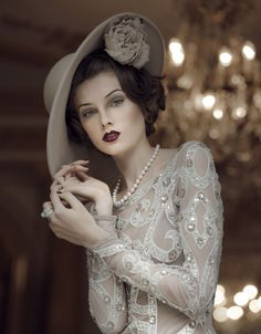 The Great Gatsby - Photo by Signe Vilstrup for Harrods Magazine - @~ Mlle