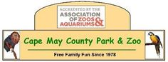 Cape May County Park and Zoo-- A great zoo...free admission year-round! A must see for families :-)