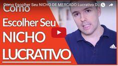 Fórmula negócio online, Como Escolher Seu NICHO DE MERCADO Lucrativo Definitivamente | Alex Vargas