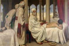 Abu al-Qasim aka Albucasis, was an Arab Muslim physician who lived in Al-Andalus, Cordoba. He is considered the greatest medieval surgeon to have appeared from the Islamic World, and has been described by many as the father of modern surgery.[ His greatest contribution to medicine is the Kitab al-Tasrif, a thirty-volume encyclopedia of medical practices and cauterization. First physician to describe an ectopic pregnancy, and the first physician to identify the hereditary nature of…