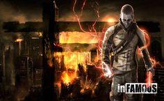 Infamous 2 Evil Cole HD Wallpaper