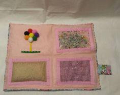 Girls sensory board, Washable Sensory toy, Princess Sensory mat for sale, busy board, activity board, Portable Sensory Board, Kids Play Mat