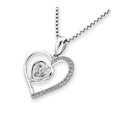 You'll be completely smitten with this pendant necklace designed in 18K white gold. https://www.noblag.com/us/18k-750-white-gold-diamond-pendant-1231.html #finejewelry #pendantnecklace #beautifulstyles #accessories