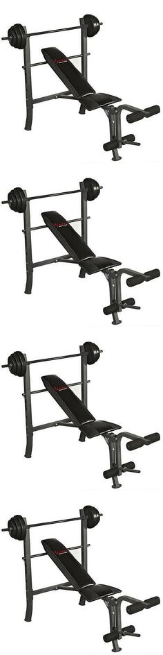 Weight Sets 179818: Weight Bench Set 100-Pound Health And Fitness Exercise Weight Management Home Gym -> BUY IT NOW ONLY: $233.99 on eBay!