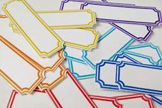 free label printables cut apart
