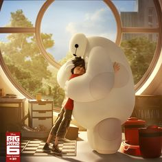 Big Hero 6 has been nominated for Best Animated Feature Film at the 2015 Golden Globes!