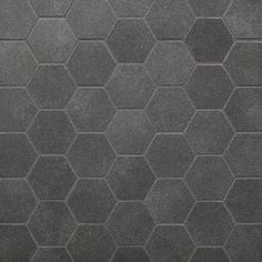 Niche and Shower Floor - Floor & Decor - Uptown Antracite Hexagon Porcelain Mosaic Gray Shower Tile, Shower Floor Tile, Bathroom Floor Tiles, Tile Bathrooms, Floor Preparation, Driftwood Stain, Bathroom Pictures, Bathroom Ideas, Small Bathroom