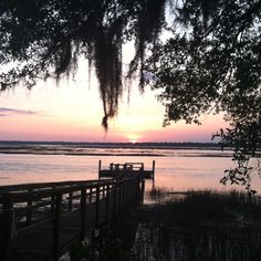 Beaufort, SC Sunset. -JAT