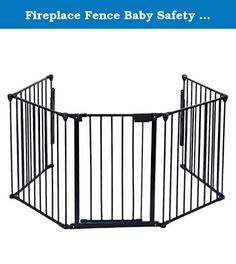 Fireplace Fence Baby Safety Fence Hearth Gate BBQ Metal Fire Gate Pet Dog Cat. Product Description This Is Our Fireplace Fence Baby Safety Fence,Which Will Provides A Very Safe Environment For Your Child,Dog And Cat. It Will Prevent Them Into Places They Aren't Allowed Like A Fireplace Or Any Other Non Kids Friendly Area. What's More, It Is Easy To Set Up In Non-Frustration. Feature Brand New And Good Quality. Safety For Use Around Fireplaces, Grills, Wood Burning Stoves, Etc Heavy Duty...