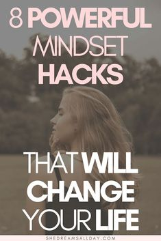 Mindset hacks that will change your life. The key to a happy and content life is a positive mindset. Learn how to change your mindset so you can live the life of your dreams. Everything can change if you start by changing your thoughts. Change Your Mindset, Success Mindset, Positive Mindset, Growth Mindset, Positive Thoughts, The Change, How To Change Life, Quotes Positive, Motivational Quotes