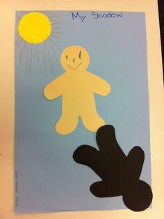 Shadow craft for preschool and kindergarten students