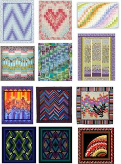 Quilt Inspiration: FREE BARGELLO PATTERN Archive